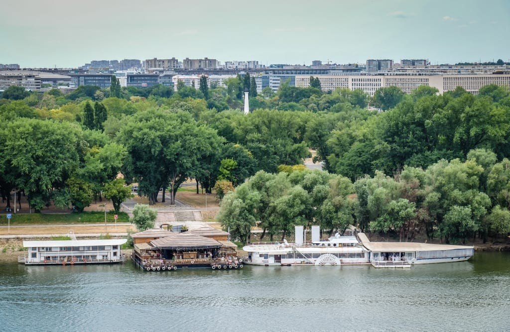 River Barges Belgrade