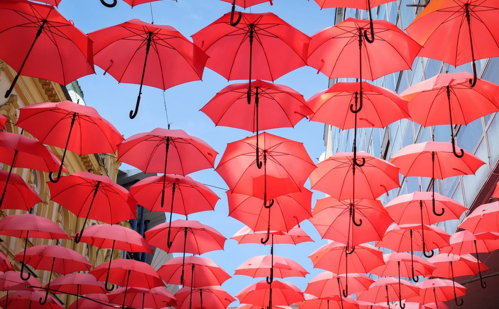 Red Umbrellas Belgrade