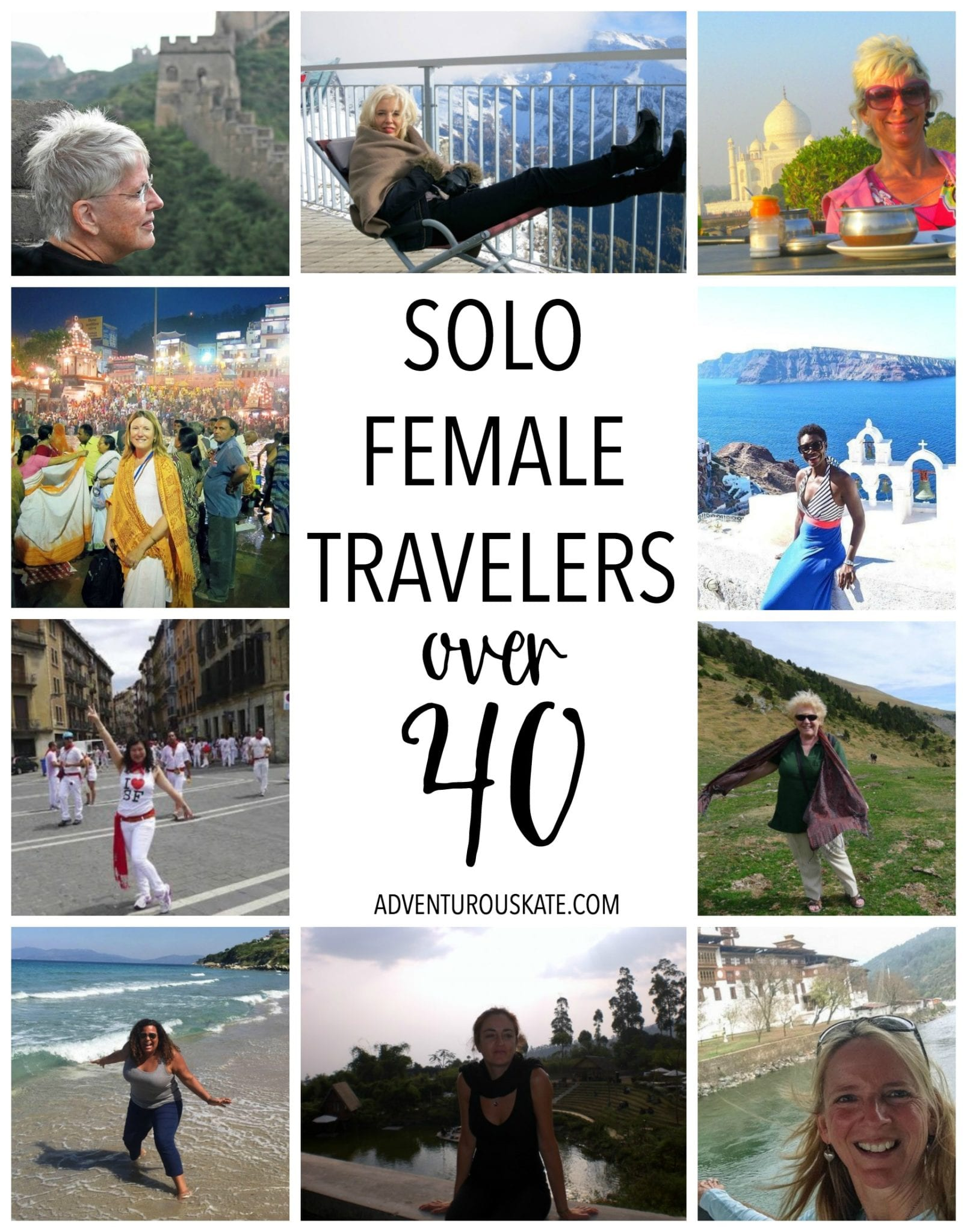 Solo Travelers Over 40
