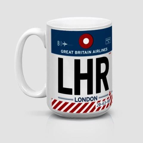 Airportag LHR London Mug