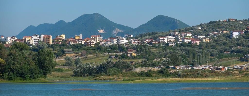 Lake Tirana Albania