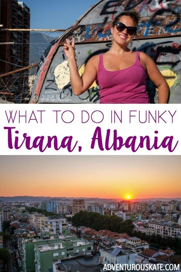 The Funk Factor of Tirana, Albania