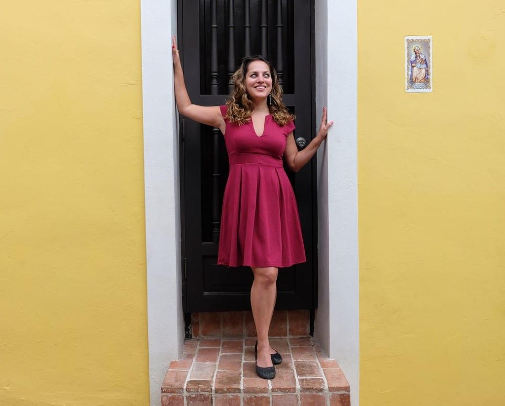 Kate in San Juan, Puerto Rico