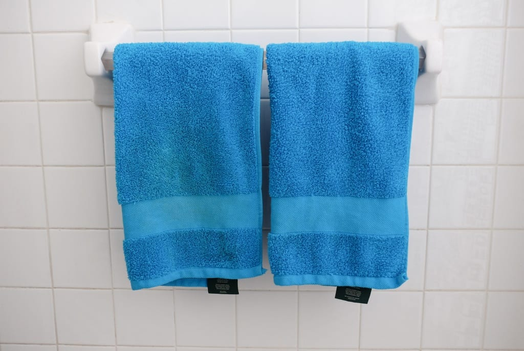 Blue Bathroom Towels