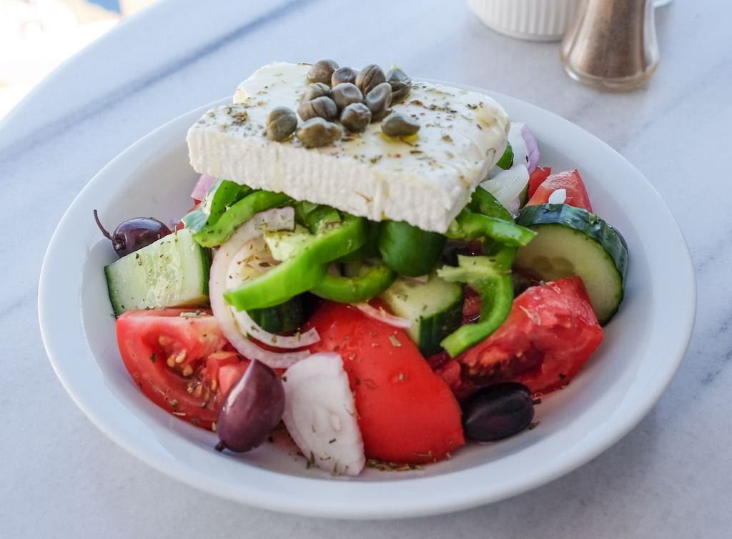 Santorini Greek Salad