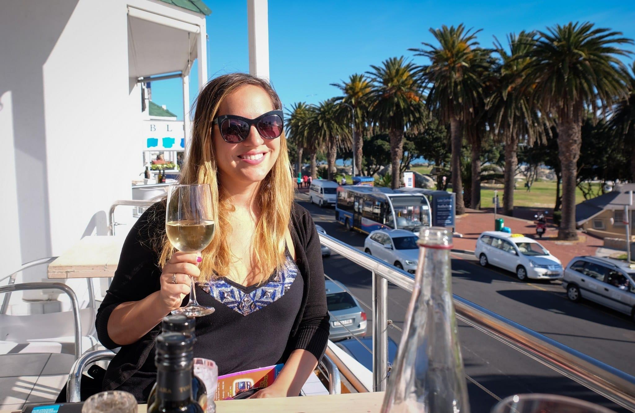 Kate at Camps Bay