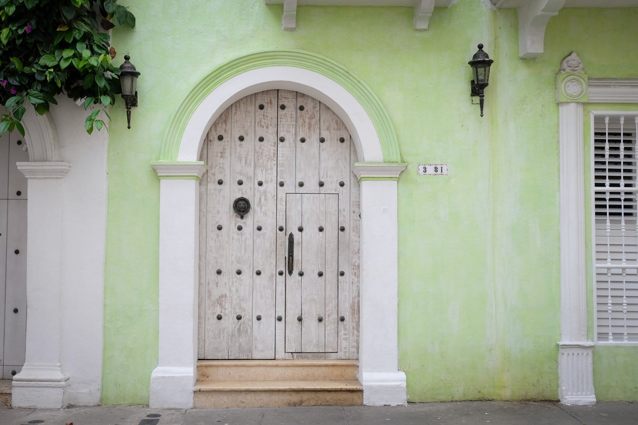 Door in Cartagena
