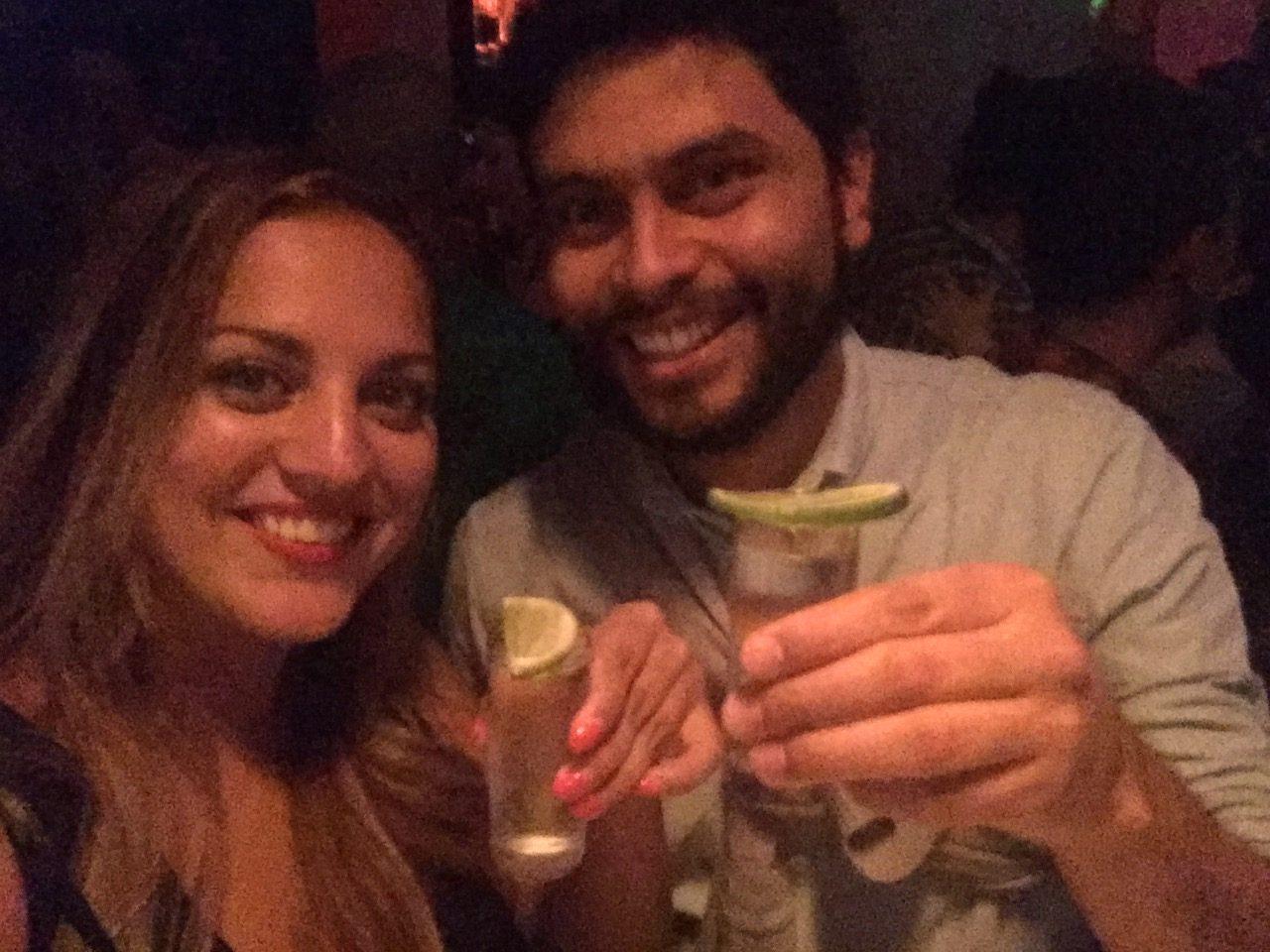 Kate and Mario in Bogota