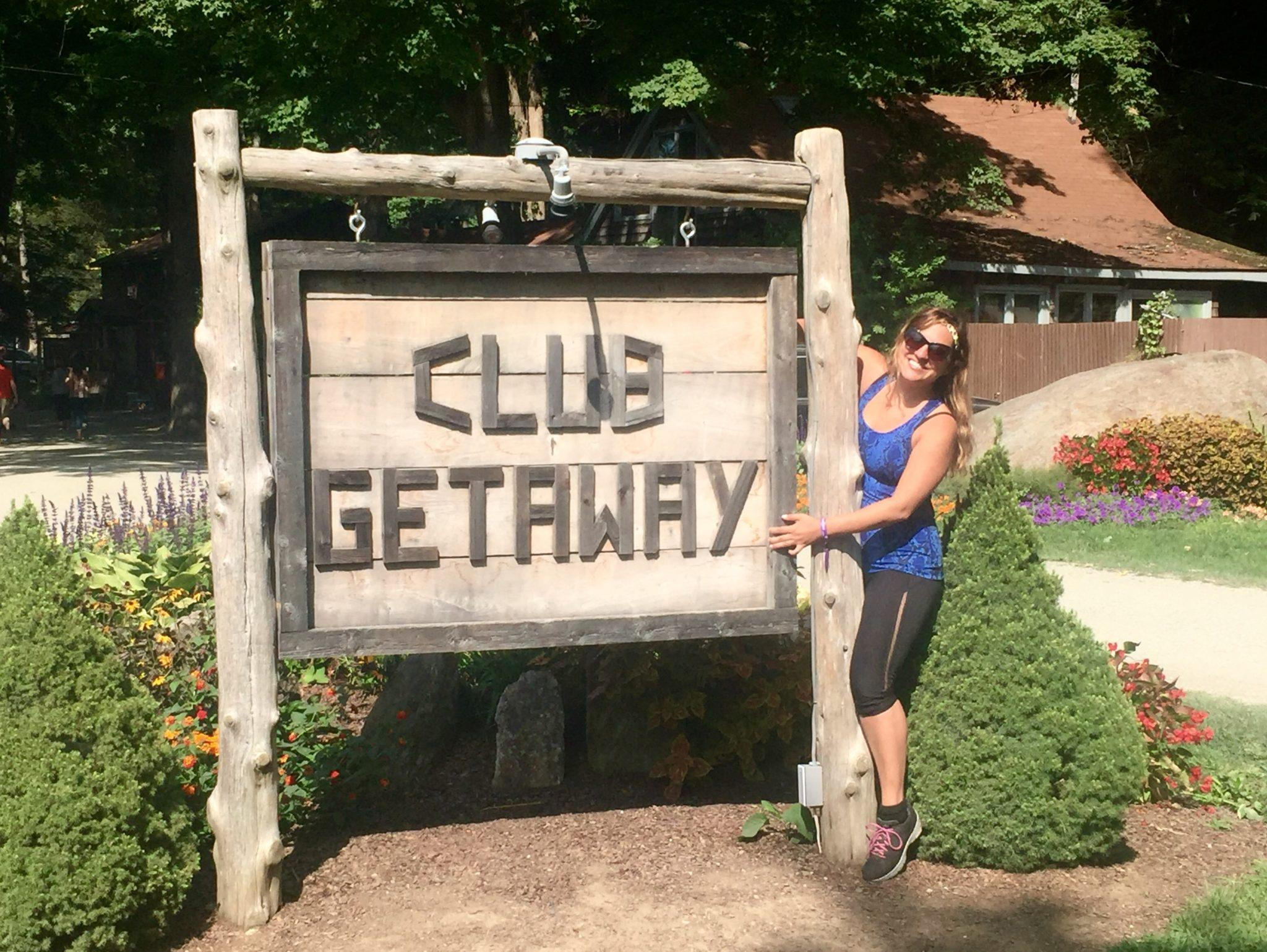 Kate at Club Getaway