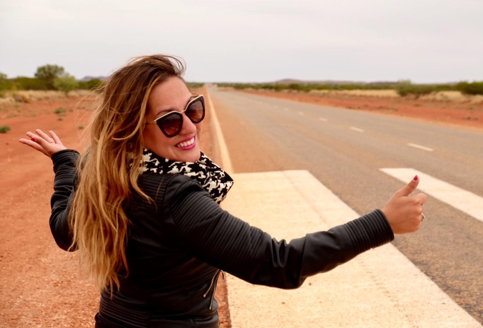 Kate in Australia