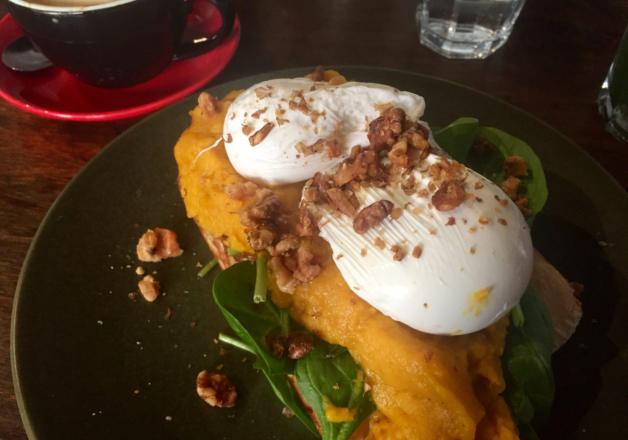 Eggs and Pumpkin in Fremantle