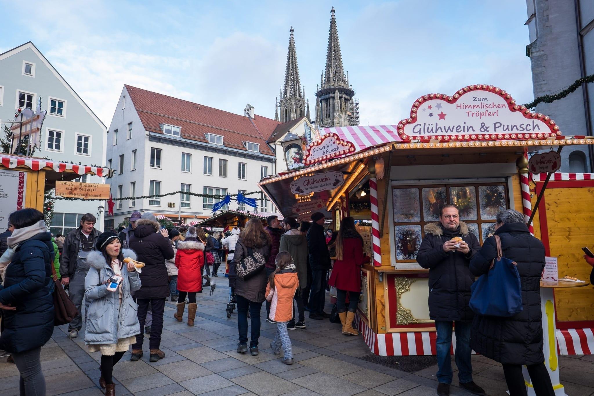 Regensburg Christmas in Bavaria